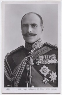 Prince Alexander Cambridge, Earl of Athlone, by Rita Martin, published by  Rotary Photographic Co Ltd - NPG x197590