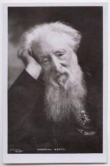William Booth, by Falk - NPG x197598