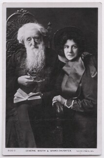 William Booth; Evangeline Cory Booth, published by Rotary Photographic Co Ltd - NPG x197600