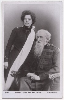 Emma Moss Booth-Tucker (née Booth); William Booth, published by Rotary Photographic Co Ltd - NPG x197602