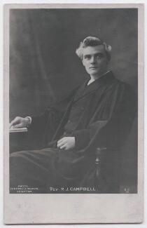 Reginald John Campbell, by Pannell & Holden - NPG x197607