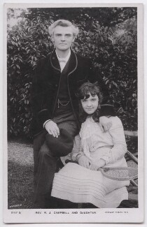 Reginald John Campbell; Hilda May Campbell, published by Rotary Photographic Co Ltd - NPG x197615
