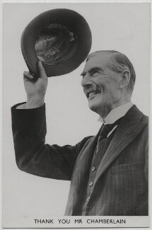 Neville Chamberlain, published by The Photochrom Co Ltd - NPG x197617