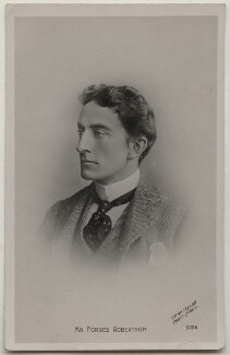 Sir Johnston Forbes-Robertson, by Chancellor, published by  The Rotophot Postcard - NPG x197626