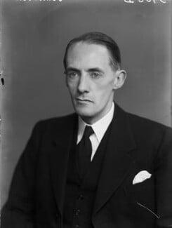 Douglas Harold Johnston, Lord Johnston, by Walter Stoneman - NPG x190412