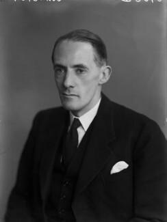 Douglas Harold Johnston, Lord Johnston, by Walter Stoneman - NPG x190413