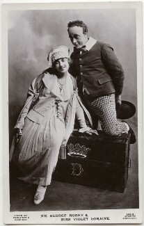 Violet Loraine and George Robey in 'The Bing Boys Are Here', by Foulsham & Banfield, published by  J. Beagles & Co - NPG x139751