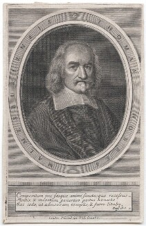 Thomas Hobbes, published by William Crooke, after  William Faithorne - NPG D42988