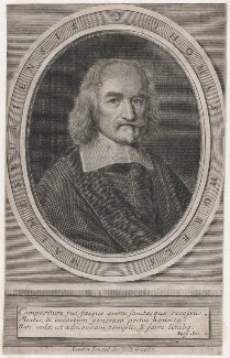 Thomas Hobbes, published by William Crooke, after  William Faithorne - NPG D42989