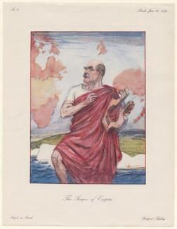 (Joseph) Rudyard Kipling ('The Singer of Empire'), after Leonard Raven-Hill - NPG D43028
