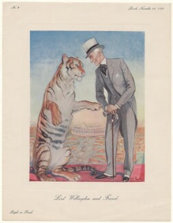 Freeman Freeman-Thomas, 1st Marquess of Willingdon ('Lord Willingdon and Friend'), after E.H. Shepard - NPG D43032