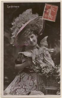 Miss Saunières, by Professeur Stebbing - NPG x139756