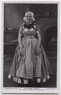 Mabel Sealby as Mina in 'Miss Hook of Holland', by Foulsham & Banfield, published by  Rotary Photographic Co Ltd - NPG x139757