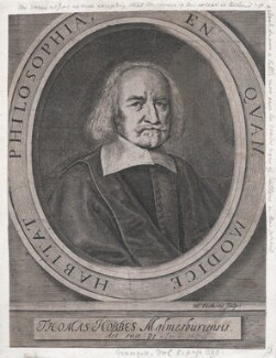 Thomas Hobbes, by William Faithorne - NPG D42985