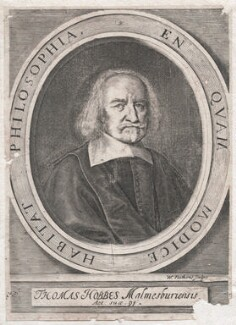 Thomas Hobbes, by William Faithorne - NPG D42986