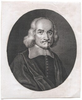 Thomas Hobbes, after William Faithorne - NPG D42987