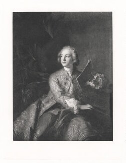 Francis Greville, 1st Earl of Warwick and Brooke, after Jean Marc Nattier - NPG D42997