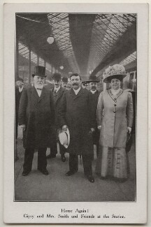 'Home Again! Gipsy and Mrs. Smith and Friends at the Station', by Unknown photographer - NPG x197653