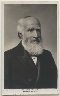 Sir George Williams, published by Rotary Photographic Co Ltd - NPG x197662