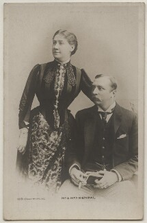 Madge Kendal; William Hunter Kendal (William Hunter Grimston), published by Rotary Photographic Co Ltd - NPG x197679
