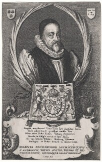 John Spottiswoode, by Wenceslaus Hollar - NPG D43035
