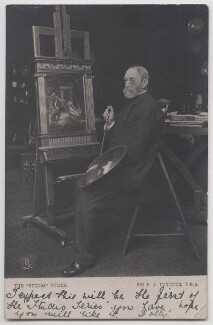 Sir Edward John Poynter, 1st Bt, by Richard Williams Thomas, published by  Raphael Tuck & Sons - NPG x197696