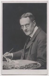 John Seymour Lucas, by E.H. Mills, published by  Rotary Photographic Co Ltd - NPG x197698