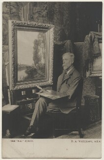 Sir Ernest Albert Waterlow, possibly by Richard Williams Thomas, published by  Raphael Tuck & Sons - NPG x197700