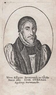 John Overall, after Wenceslaus Hollar - NPG D43043
