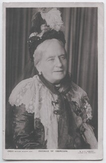 Louisa Jane (née Russell), Duchess of Abercorn, by W. & D. Downey, published by  Rotary Photographic Co Ltd - NPG x197703