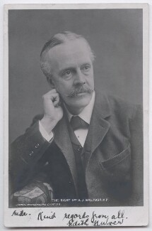 Arthur James Balfour, 1st Earl of Balfour, by London Stereoscopic & Photographic Company - NPG x197717