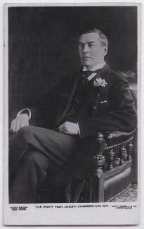 Joe Chamberlain, by Henry Joseph Whitlock & Sons Ltd, published by  Raphael Tuck & Sons - NPG x197734