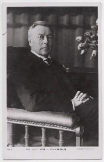 Joe Chamberlain, by Henry Joseph Whitlock & Sons Ltd, published by  Rotary Photographic Co Ltd - NPG x197737