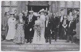 'Chamberlain Celebration July 7th 1906. Tea Party at Aston Hall', by Alfred John Juggins - NPG x197743