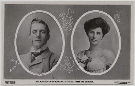 Sir (Joseph) Austen Chamberlain; Ivy Muriel (née Dundas), Lady Chamberlain, published by Scott Russell & Co - NPG x197753