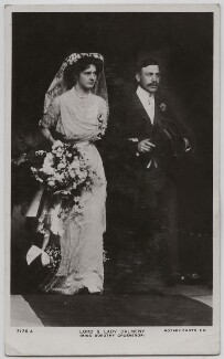 'Lord & Lady Dalmeny', published by Rotary Photographic Co Ltd - NPG x197759