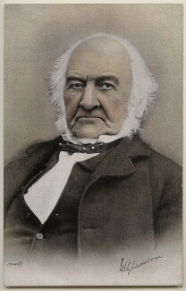 William Ewart Gladstone, by Walter Macdonald, for  James Valentine & Sons - NPG x197772