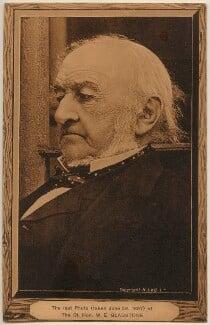 William Ewart Gladstone, by George Watmough Webster, published by  Hugo Lang & Co - NPG x197774