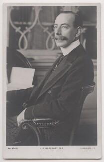 Lewis Harcourt, 1st Viscount Harcourt, by Reginald Haines, published by  J. Beagles & Co - NPG x197783