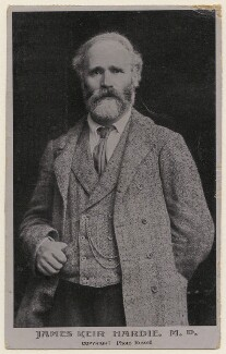 Keir Hardie, by James Russell & Sons - NPG x197786