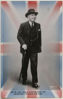 Leslie Hore-Belisha, Baron Hore-Belisha, published by James Valentine & Sons Ltd - NPG x197790