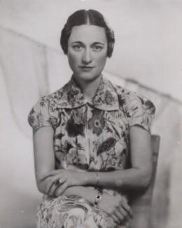 Wallis, Duchess of Windsor, by Fayer - NPG x194344