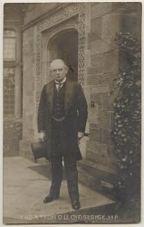 David Lloyd George, by Bevan - NPG x197804