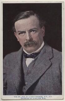 David Lloyd George, by E.H. Mills, published by  Raphael Tuck & Sons - NPG x197810