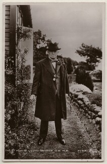 David Lloyd George, published by James Valentine & Sons Ltd - NPG x197814
