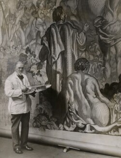 Sir Frank Brangwyn, by Wide World Photos - NPG x182367