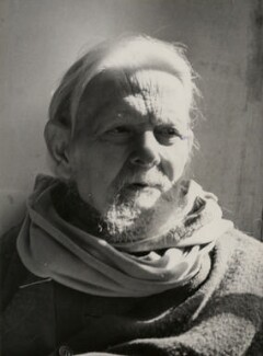 Sir Frank Brangwyn, by Barratt's Photo Press Ltd - NPG x182368