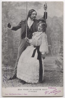Jean Périer and Mariette Sully in the operetta 'Véronique', by Nadar, published by  Neurdein Frères - NPG x139770