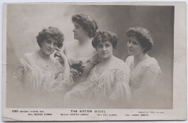'The Sisters Moore', by (Edward) Adolphus Tear, published by  Rotary Photographic Co Ltd - NPG x197830
