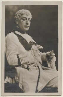 Lewis Waller (William Waller Lewis) as Monsieur Beaucaire in 'Monsieur Beaucaire', by Lafayette, published by  Ralph Dunn & Co - NPG x197864